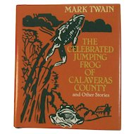 Miniature Book by Mark Twain The Celebrated Jumping Frog of Calaveras County and Other Stories