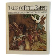 Tales of Peter Rabbit Miniature Book by Beatrix Potter and Illustrated by Charles Santore