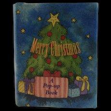 Merry Christmas Miniature Pop-Up Book Armand Eisen and Ariel Books Pop Up Popup