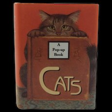 Cats Miniature Pop-Up Book Armand Eisen and Ariel Books Pop Up Popup Illustrated by Ruth Sanderson Design by William C. Wolff Tiny Tomes