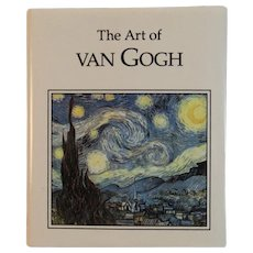 Miniature Book The Art of Van Gogh Armand Eisen and Ariel Books Illustrated