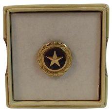 Gold Star Mother Pin In original Box Son Killed in Service Korean War Era 1947
