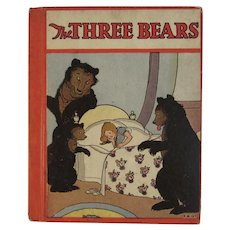 1934 The Three Bears Illustrated by Magaret Evans Price with Other Stories Retold By Wadsworth Childrens Book