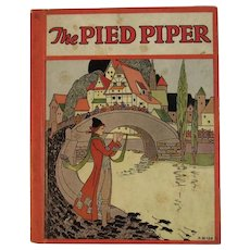 1934 The Pied Piper Illustrated by Magaret Evans Price with Other Stories Retold By Wadsworth Childrens Book