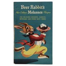1948 Brer Rabbit's New Orleans Molasses Recipes Cookbook Vintage Advertising
