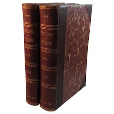 1904 Pennsylvania at Gettysburg Volumes I and II Half Leather 2 Vol Set Civil War Books Monuments