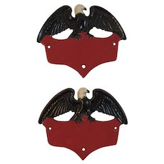 Cast Iron American Eagle Plaques