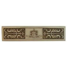 Art Deco Celluloid Hamilton Watch Box