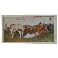 1912 Aspinwall Sprayer John Deere Plow Co Baltimore MD Advertising Flyer