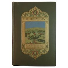 1910 The Holy Land by Robert Hichens Illustrated by Jules Guerin Antique Book