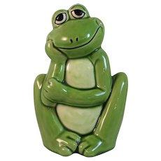 Vintage Norcrest Frog Bank Japan Mid Century