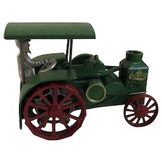 Irving Model Shop Rumely Oil Pull Farm Tractor with Driver