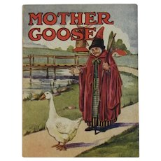 1920s Mother Goose Book American Colortype Co