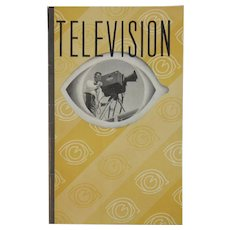 1939 America's First Television Tour Guide Book Booklet NBC Studios National Broadcasting Company Let There Be Sight