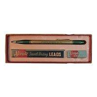 Vintage Scripto Advertising Pencil Atlantic Beverage Co of Atlantic City New Jersey in Original Box