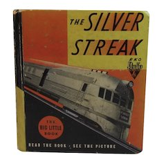 1935 The Story of the Silver Streak Big Little Book, Whitman Retold by Eleanor Packer, Illustrated with Scenes from the RKO-Radio Picture