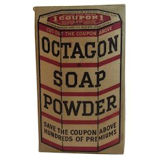 Octagon Soap Powder Full Unopened Box Colgate Palmolive 13 ounce size