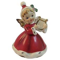 Napco Christmas Angel Rotating Music Box Plays Silent Night Musical Napcoware