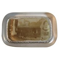 Jennie Wade House Souvenir Glass Paperweight Paper Weight Gettysburg PA Civilian Killed During the Civil War