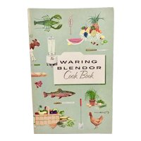 1955 Waring Blendor Cook Book Blender Cookbook Vintage Kitchen