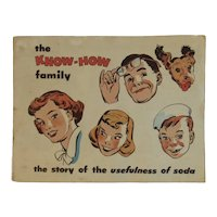 1952 Comic Book Arm & Hammer Baking Soda The Know How Family Church and Dwight