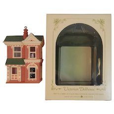 1984 Hallmark Victorian Dollhouse Ornament Nostalgic Houses and Shops First of the Series Keepsake