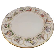 Boehm Birds and Flowers of the Original 13 States Plate for 200th Anniversary of the US Constitution 1787 - 1987 American Eagle