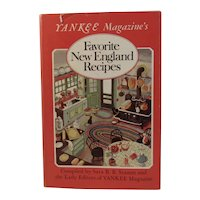 Yankee Magazine's Favorite New England Recipes Cookbook Cook Book Sara B Stamm 1972 1977