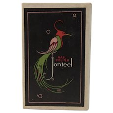 Jonteel Art Deco Bird Box Nail Polish Vintage