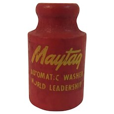 Maytag Wood Whistle Miniature Automatic Washer World Leadership Advertising