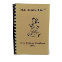 Vintage 1996 M. I. Hummel Club Cookbook - Signed Local Chapter