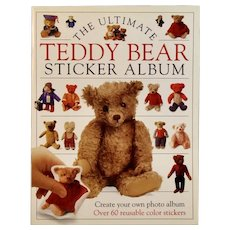 The Ultimate Teddy Bear Sticker Album Circa 1992 First American Edition