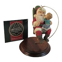 Hallmark 1991 Secrets for Santa Limited Edition Collectors Club Christmas Ornament