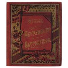 1890 Views of Gettysburg Battlefield Tipton Photographs Photographer Leighton and Frey