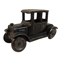 Vintage Two Door AC Williams Cast Iron Model T Toy Car