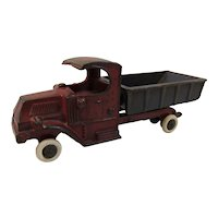 Vintage Cast Iron Champion Dump Truck