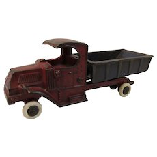 Vintage Cast Iron Champion Dump Truck