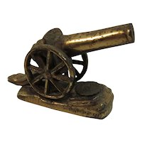 Gettysburg Cast Metal Civil War Cannon Miniature Souvenir