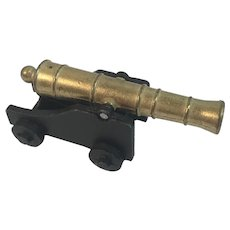 Penncraft Miniature Brass and Cast Iron Naval Cannon