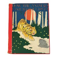 1934 How the Animals Came to the Circus by Elizabeth Gale Illustrated by Warner Carr Childrens Book