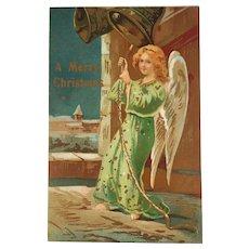 Dattilo Italian Angel Postcard Italy Christmas