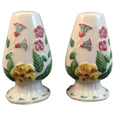 Blue Ridge Southern Pottery Charm House Salt and Pepper Shakers