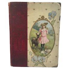 c 1905 Our Animal Friends Children's Book Edwardian Illustrations Altemus Philadelphia