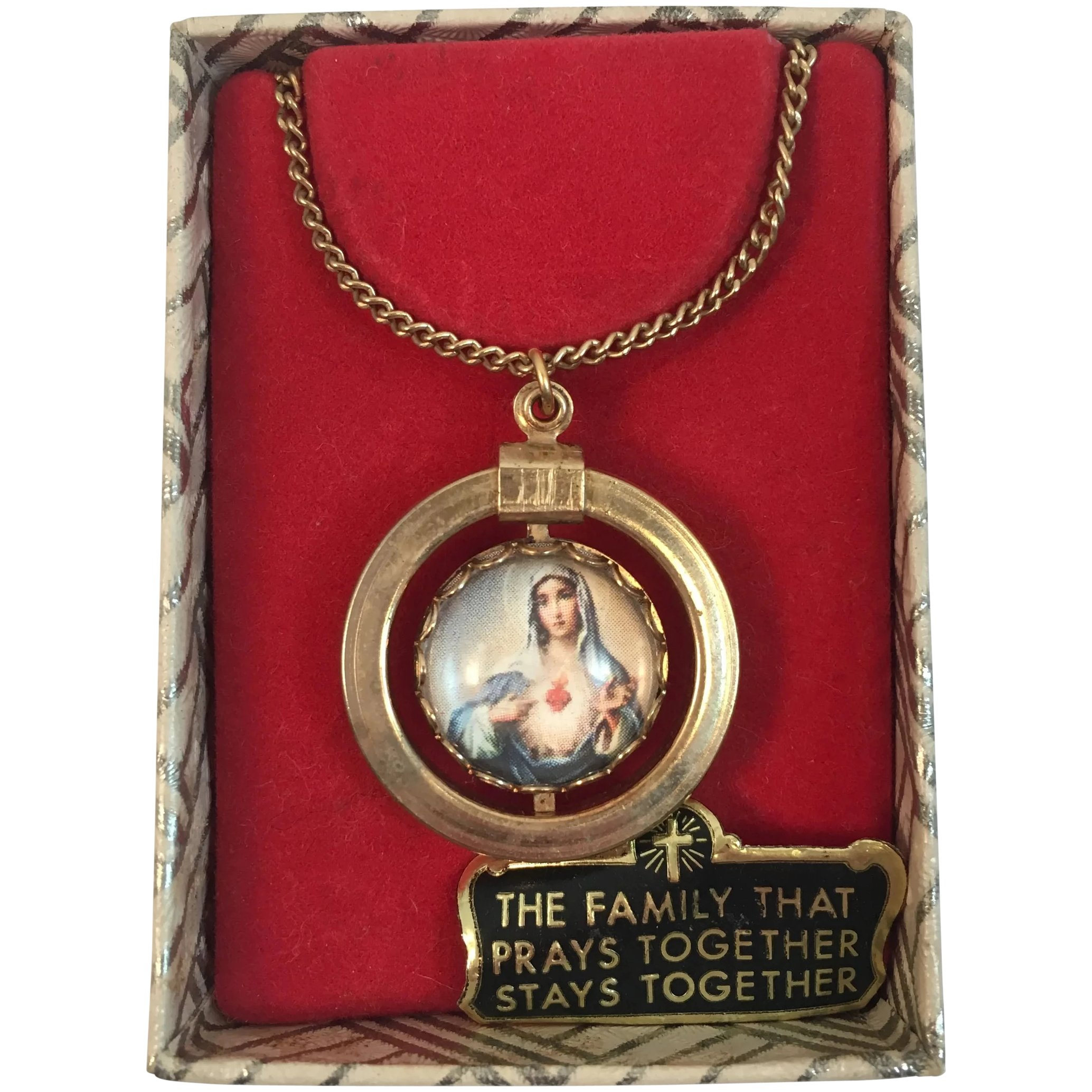Immaculate pendant Maria/'s heart.
