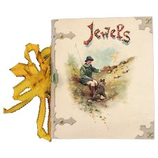 Victorian German Miniature Book Jewels from the Bible Mine Booklet Nister Bavaria Germany