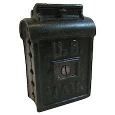A C Williams Bank Cast Iron U S Mail
