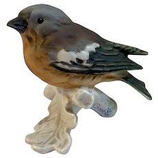 Goebel Chaffinch Bird Figurine West Germany Matte Finish 38023-05