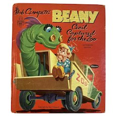 1954 Whitman Tell A Tale Book Bob Clampett's Beany Cecil Captured for the Zoo Jack Bradbury Gene Wolfe Illustrated Sea Serpent
