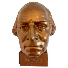 President George Washington Bust Pencil Sharpener Hard Plastic Made in USA