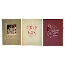 3 1950s Christmas Carols Advertising Books Booklets Shively Motors Chambersburg PA Automobilia Car Dealer